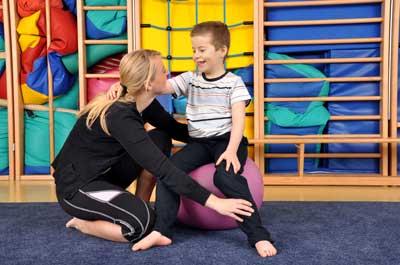 Ergotherapie München Bewegungstherapie für Kinder